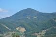 Výhled na Boč z vrchu Janina, Slovinsko