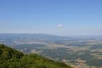Výhled z Boče na severozápad až sever, Slovinsko