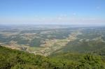 Výhled z Boče na severovýchod, Slovinsko