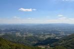 Výhled z Boče na jih, Slovinsko