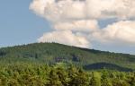 Kohout, nejvyšší vrchol Slepičích hor.