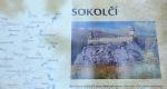 Z fotky si lze představit na jak úžasném místě hrad Sokolčí stál.