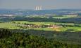 Krajina čtyř věží. I to jsou Jižní Čechy. Orientační bod viditelný skoro z každého kopce.