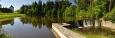 Rybník na Svinenském potoce byl součástí mohutného opevnění.