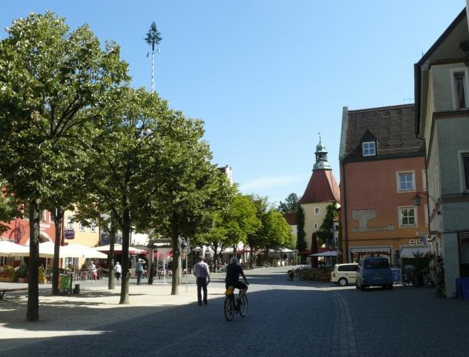 Náměstí ve Weidenu