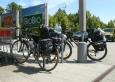 Ve Schnaittenbachu nakupujeme a já zatím fotím kola