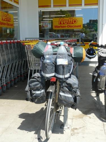 Michalovo kolo mělo nejblíž k silničnímu, proto mu to docela jelo.