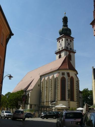 Kostel v Sulzbach-Rosenbergu