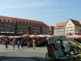 Náměstí v Norimberku