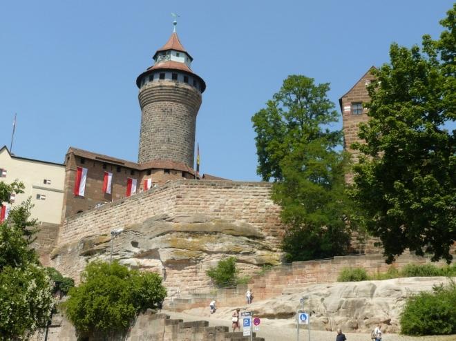 Hrad v Norimberku zespoda
