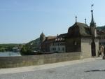 Na starém mostě ve Schwäbisch Hallu