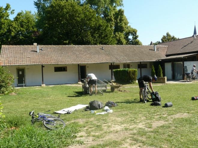 Ráno se však probouzíme v kempu v Gundelsheimu