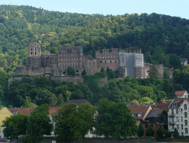 Zámek Heidelberg