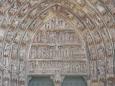 Detail sošek nad vchodem