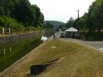 Kanál těsně před tunelem