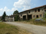 Francouzská vesnice na venkově