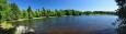 V rybníku Zvůle je tak čistá voda, že u jeho břehů můžete spatřit i raky.