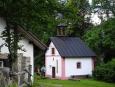 Kaple na Malých Kozích Hřbetech.