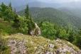 Pohled z Bágl'ova vrchu (či Lubené).