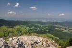 Na vrcholku (956 m n. m.).