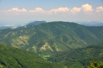 Strážovské vrchy jsou krásné, ale na putování s těžkými batohy dost náročné.