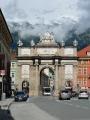 Vítězný oblouk (Triumphpforte), Innsbruck