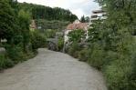 Řeka Ill, Feldkirch, Rakousko