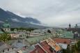 Innsbruck a okolí z radniční věže