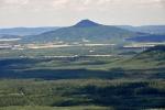 Ralsko (696 m n. m.) je dnes již přístupné. Původní úmysl byl vystoupit i na tento atraktivní vrchol, nakonec na to již nebyl čas.