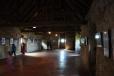 V jedné z místností je výstava obrazů zachycujících hrad v mnoha podobách.