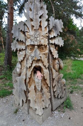 Strážce zdejších dubů.