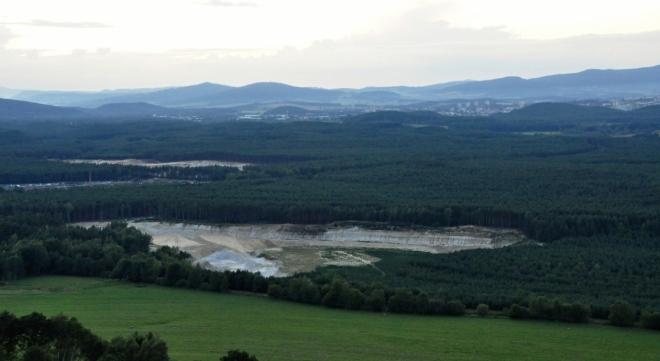 Lesy jsou plné mokřad. Nedaleko od nás je NPR Novozámecký rybník.