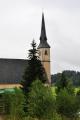 Kostel v Přední Výtoni je mohutný. Právě zde probíhá rekonstrukce.