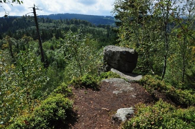 Medvědí hora (934 m n. m.).