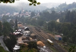Pohled k nádraží.