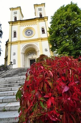 Kostel Nanebevzetí Pann Marie.