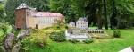 Bečov nad Teplou. Aspoň takto vidíme celý komplex hradu a zámku, když už jsme ho nenavštívili při sobotním treku přes Slavkovský les.