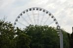 """Ruské kolo v centru Budapešti (""""Budapešťské oko"""")"""