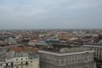 Budapešť, výhled z baziliky svatého Štěpána (Szent István-bazilika) na východ až jihovýchod