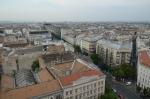 Budapešť, výhled z baziliky svatého Štěpána (Szent István-bazilika) na severovýchod