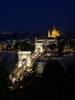 Budapešť od Budínského hradu