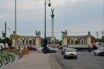 Blízko náměstí Hrdinů (Hősök tere), Budapešť