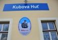 Kubova Huť - nejvýše položená železniční stanice v ČR.