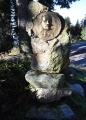 Pomník Adalberta Stiftera, spisovatele, který se narodil v Horní Plané.