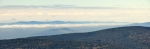 Vpravo je na vrcholku Haidlu možné spatřit rozhlednu.
