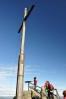 Kříž na Hochsteinu (1 332 m n. m.).
