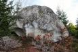 Kámen nazvaný Kráska mi trochu připomíná lebku obra Koloděje.