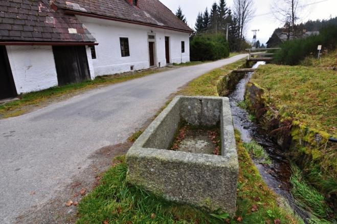 U Schwarzenberského kanálu na Jeleních vrších.