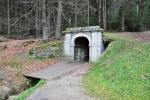 Dolní portál Schwarzenberského kanálu.