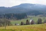 Želnava a vrchol Hvězdy (1 145  m n. m.).